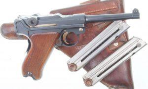 Bern 1906/24, 1924 Luger, Holster