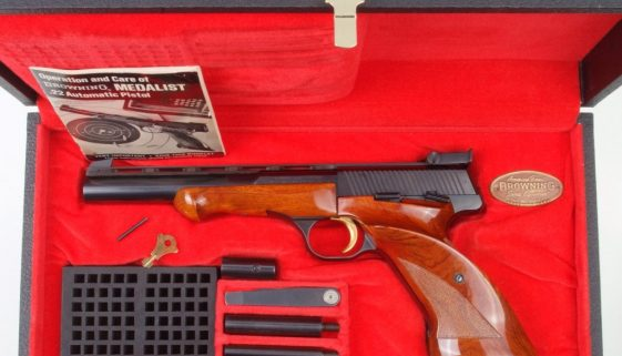 Browning Medalist, Cased with Accessories. 1973