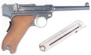 DWM 1900 Swiss, Military, Wide Trigger