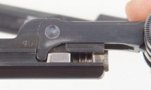DWM 1900 Swiss, Military, Wide Trigger
