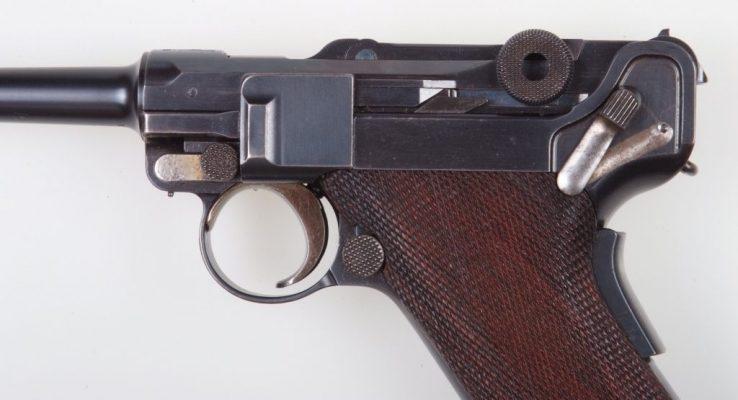 DWM Luger, M1906, M2, Portuguese, Holster