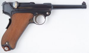 "DWM ""E"" Prefix 1900 Swiss Military Contract Luger."