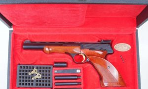FN Browning Medalist, Cased with Accessories. 1968