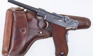 Luger, 1900 Swiss, Military, Wide Trigger, Holster