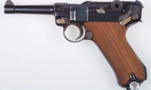 Mauser Banner Luger, 42 Date, Swedish Contract, Rig.