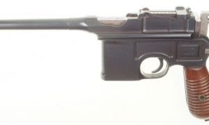 Mauser C96 Broomhandle, 1930 Cmcl, Very Late Production.