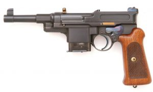 Mauser M1906-08 with 10-shot magazine.