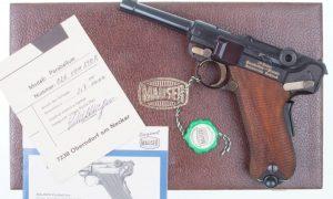 Mauser, Russian, Luger Commemorative, Near New!