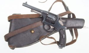 Swiss Bern 1882 Military Revolver,  Shoulder Stock.