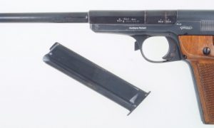Walther 1925 Olympia, Rare Long Barrel.