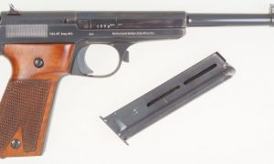Walther 1925 Olympia, Standard Configuration.