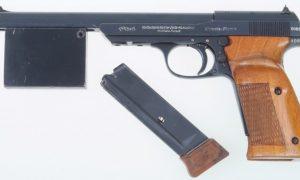 Walther 1936 Olympia, Nazi Era, Counterweight.