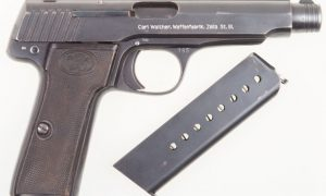 Walther Model 6, super desirable. Investment Quality!