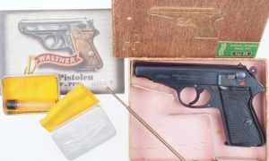 Walther PP, .22, Pre War, Boxed.  Spectacular!