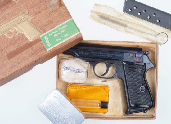 Walther PP, Wartime Commercial, Boxed, Phenomenal!