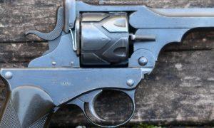 Webley Fosbery M1903, Retailer Marked, Military Documentation, PCA-18