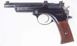 Steyr Mannlicher M1905, Pocket Model: Short Barrel, Short Grip.