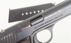 Walther Model 6, #801, A Collector's Dream.
