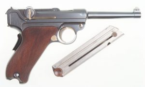 DWM Swiss 1900 Commercial Luger, Not Relieved