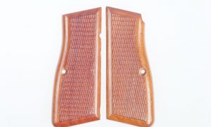 FN Browning Hi Power Grips, Red