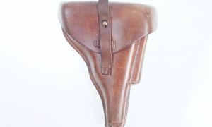 Luger Police Holster, 1929 date, Matching Mag.