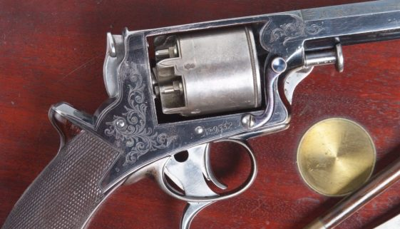 Tranter Revolver, 2nd Variation, Cased with Accessories