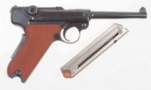 Bern, 1929 Luger, Red Grip, 50991, I-531