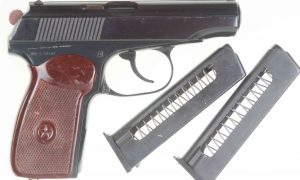 """Russian Makarov, Spare Magazine, 1958 """"L Code"""", BE3758 N, A-310"""