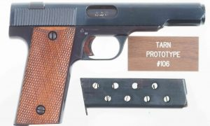 Swift Rifle Co. Tarn, British, Experimental Military Pistol