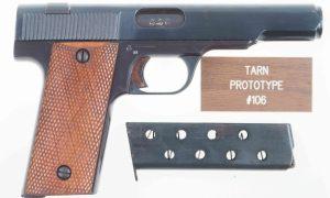 Swift Rifle Co. Tarn, British, Experimental Military Pistol
