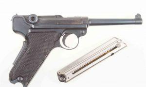 Bern, M1929, Luger, Commercial, Black Grip, P26318, I-552