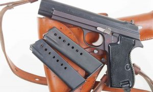 SIG ,P49, Matte Finish, Military, Late Production, Rig, I-561
