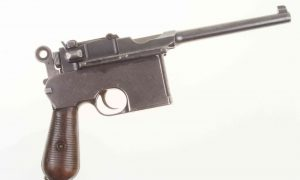 Mauser, C96, Broomhandle, Italian Navy Flatside, I-631