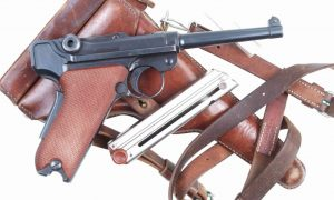 Bern Luger, 1929, Red Grip, Holster, 53101, I-686