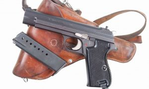 SIG ,P49, Matte Finish, Military, with holster, I-669