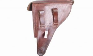 Luger Commercial Holster, Unmarked, X-122