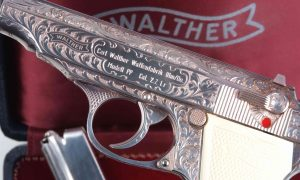 Walther, PP, Silver Engraved, Presentation Case, Post War, A-1441