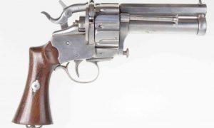 Scarce LeMat Cartridge Revolver, ANTIQUE, 31, PCA-31