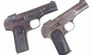 Chinese, FN 1900, Copy, Pair, Same Serial Number, 126063, PCA-63, PCA-64