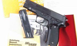 SIG Sauer, P226, Police, Thurgau, Boxed, I-138