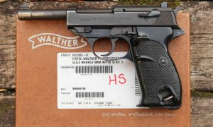 Walther, P38, Post War, Portuguese Contract, Matching box, 012222E, A-122
