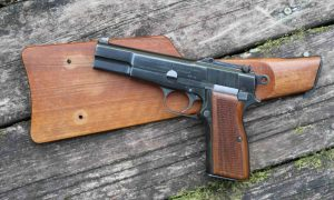 FN High Power, Finnish Contract, #12132, Correct Stock #13679, I-706