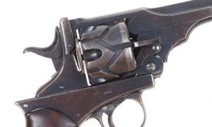 Webley Fosbery M1901, Retailer Marked, Westley Richards, 354, I-700