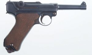 High Condition DWM Luger, 1920 Commercial, 7041N, A-31