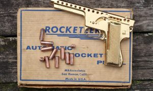 MBA, Gyrojet, Model 137, Gold Plated, Test Pistol, 121, A-1485