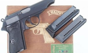 Walther PP, Early Wartime Commercial, Excellent in Box, I-345