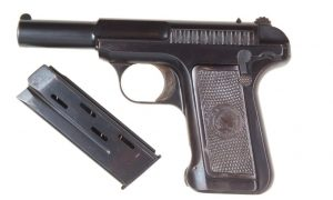 Savage, 1907, .32 ACP, Very Early, Metal Grips, 4307, A-1499